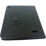 Case Flip + Película Plástico Tablet Aparelho Multilaser M8