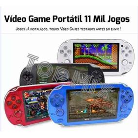 Mini Game Portátil 11mil Jogos + Mil Jogos Brinde Psp 2018