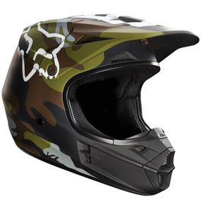 Capacete Fox V1 Camo Motocross Trilha Enduro Moto