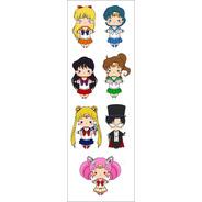 Plancha De Stickers De Anime De Sailor Moon Marte Mercurio