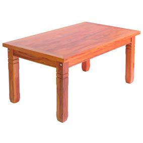Mesa De Jantar Em Madeira De Demolição 1,5m Sem Cadeiras