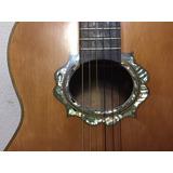 Guitarra Acústica Concierto Palo Escrito Enconchada