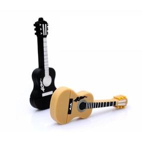 Pen Drive 8gb Estilizado Violão / Guitarra