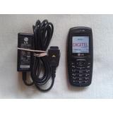 Telefono Celular Lg Mg110b Digitel Funcional Pila Abombada
