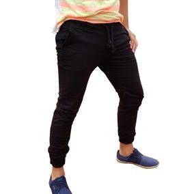 Pantalon Jogger Gabardina Skinny Moda Hombre Importados