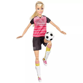 Nova Barbie Esportista Jogadora De Futebol Mattel