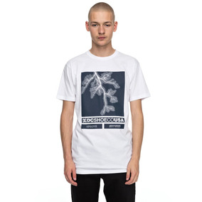 Camiseta Dc Shoes Stop Activities Wbb0 Hombre Original