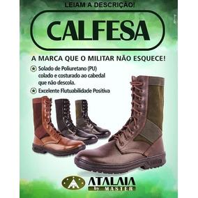 Coturno Atalaia Calfesa Cz, Leve, Flutuante, Não Descola...