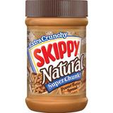 Pasta De Amendoim Skippy Natural Cremosa Super Crocante 425g