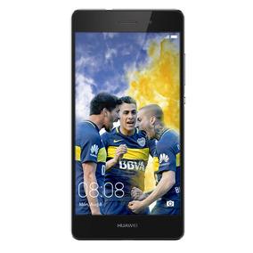 Celular Libre Huawei P8 Lite Negro Boca Juniors
