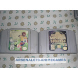 Nintendo 64 International Super Star Soccer 64 Y 98 A N64
