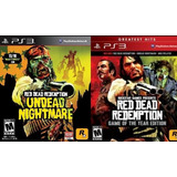 Red Dead Redemption Undead Nightmares Ps3