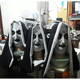 Mascara El Conjuro Monja Bruja Valak Terror Latex Disfraz