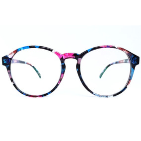 Armação Óculos De Grau Vintage Feminino Floral + Brinde