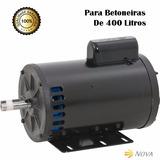 Motor Elétrico 2cv 4polos Monofásico P/ Betoneira 400litros