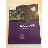 Geografía De América Serie Saber Es Clave Ed. Santillana