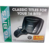 Consola 16bits Alíen Incluye Dos Joystick Y Juegos Incorp