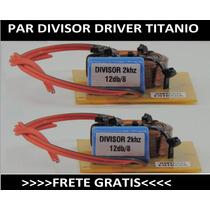 Par Divisor Driver Titanio Ti Selenium Jbl Snake Oversound