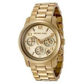Relógio Feminino Michael Kors Mk5055 Dourado De Luxo - Relógios De ... ef653a2145