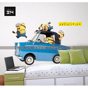 Vinilo Decorativo 3d Minions -7 Sticker Mi Villano Favorito