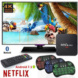 Convertidor Smart Android Tv Box Netflix Youtube + Teclado