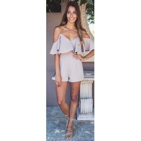 Bragas Enterizos Jumpsuits Moda Fiesta Dama Sexy Elegante