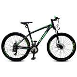 Bicicleta Mtb Veason Aro 29 Negro Verde