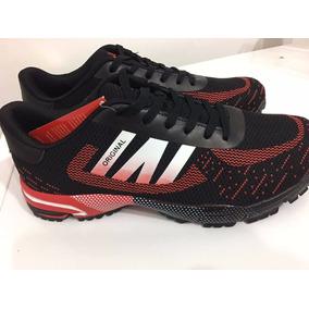 Zapatillas Running I-run Negro Con Rojo - Ultimos Pares!!