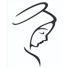 Adesivo Nossa Senhora ,santa Parabrísa Caminhão Carro