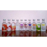 Kit Coleção Miniatura Mini Vodka Absolut 10 Sabores 50ml