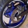 Friso Tuning Adesivo Refletivo Roda Moto Yamaha Xj6 F 600 M7