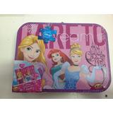 Puzzle Princesas Caja Metálica