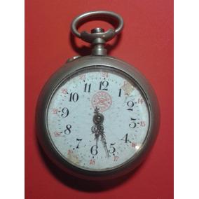 Antiguo Reloj De Bolsillo Roskopf Postala Correo Suizo C1900