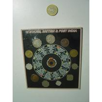 Colección De Monedas British Inglaterra Post India