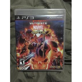 Ultímate Marvel Vs Capcom Ps3 Con Manual Completo