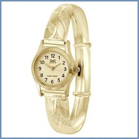 Exclusivo Reloj Para Dama En Oro Amarillo Solido 14k Acc