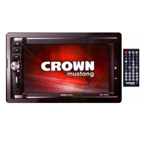 Crown Mustang Dmr-10000bt Estereo Doble Dim Mp3 Bluetooth