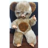 Urso Peposo Pelúcia Anos 80 Antigo 45 Cm (modelo 1)