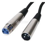 Cable Para Microfono 3 Metros Canon Xlr Acabado Metal