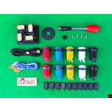 Kit Arcade 1 Palanca + 10 Botones Happ + Usb Grobgame !!!