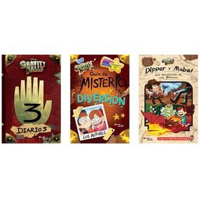 Coleccion Gravity Falls _ 3 Libros En Español Envío Gratis