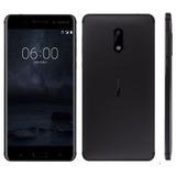 Smartphone Nokia 6 Dual 64gb Original 4gb Ram Novo Tela 5.5