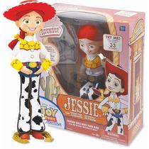 Toy Story - Jessie A Cowgirl Falante - 30 Cm Fala Portugues