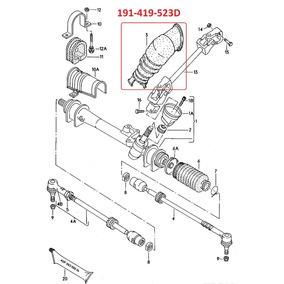 Cubrepolvo Caja Direccion Std Nudo Golf Jetta A2 88-92 1.8