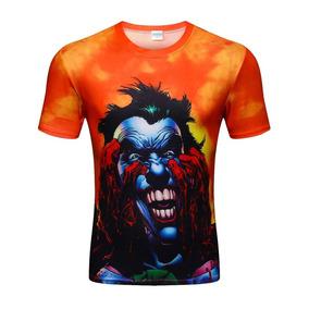 camisa do coringa do mal 157 camisetas e blusas no mercado livre