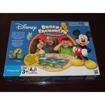 Juego Didáctico Disney Busca Encuentra Hasbro Solo D.f.