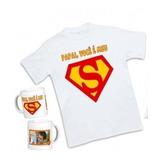 Kit Personalizado Dia Dos Pais Camiseta + Caneca 50,00