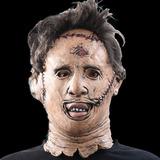 Máscara Leatherface Latex -massacre Da Serra Elétrica