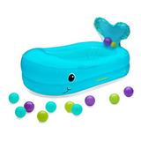 Infantino Whale Bubble Inflable Bañera De Baño