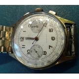 Antiguo Reloj Crono Imperial 40 Mm Malla Speidel Dorado Oro
